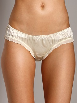 La Fee Verte Silk Boyshort Cream