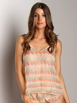 La Fee Verte Silk Camisole Indian Summer