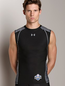 Under Armour Warp Speed Sleeveless T Black/Steel