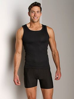 UnderArmour Original Relaxed Fit Tank Top Black/Steel