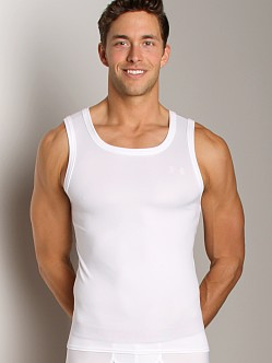 UnderArmour Original Relaxed Fit Tank Top White/Aluminum