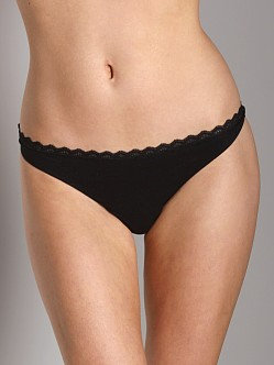 Cosabella Milli Low Rise Thong Black