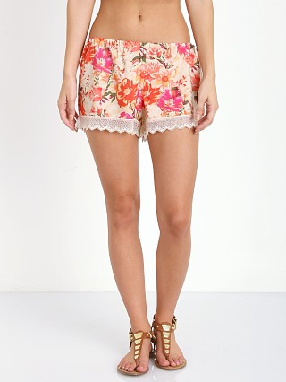 Show Me Your Mumu Bri Lacey Shorts Pretty Pretty Petals