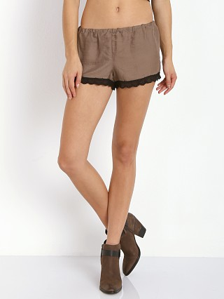 Show Me Your Mumu Bri Lacey Shorts Toffee