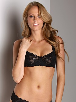 Cosabella Never Say Never Prettie Underwire  Bra Black