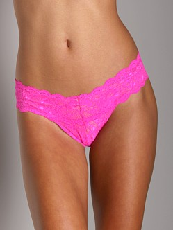 Cosabella Never Say Never Cutie Thong Shocking Pink