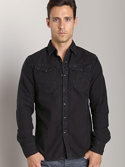 G-Star Arc 3D Diamond Denim Shirt Black