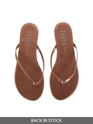 Tkees Glitters Flip Flop Ginger Snap