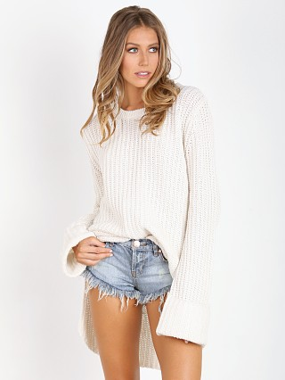One Teaspoon Harvey Chunky Knit Cream