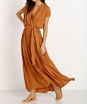 La Confection Aia Dress Plain Sunburnt, view 3