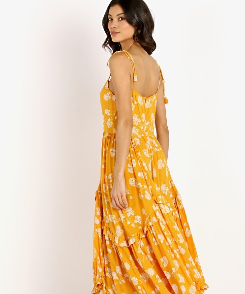 La Confection Valere Dress Lantana Citrus