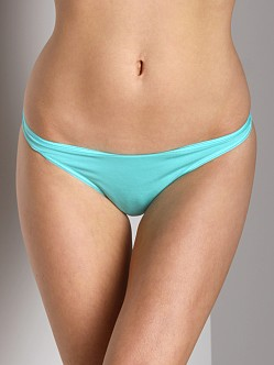 Cosabella Talco Long Thong Aquamarine