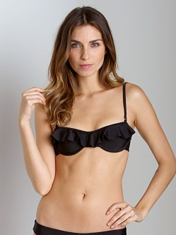 Tori Praver Cabazon Top Black