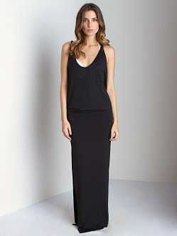 Tori Praver Long Cover Up Black