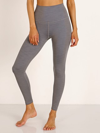 Complete the look: Beyond Yoga Heather Rib Midi High Waisted Legging Gray Heather