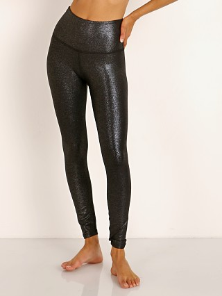 Beyond Yoga Twinkle High Waisted Midi Legging Silver Twinkle