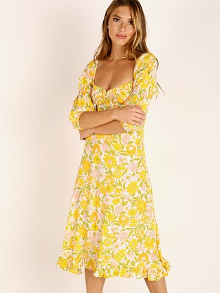 Faithfull the Brand Nora Midi Dress Jolene Floral Print