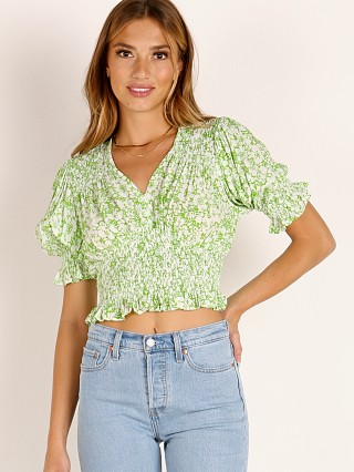 Faithfull the Brand Lini Top Freja Floral Print