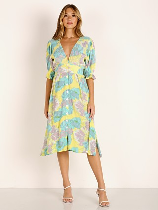 Faithfull the Brand Rafa Midi Dress Lera Floral Print