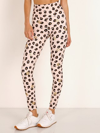 Beach Riot Piper Legging Gold Leopard