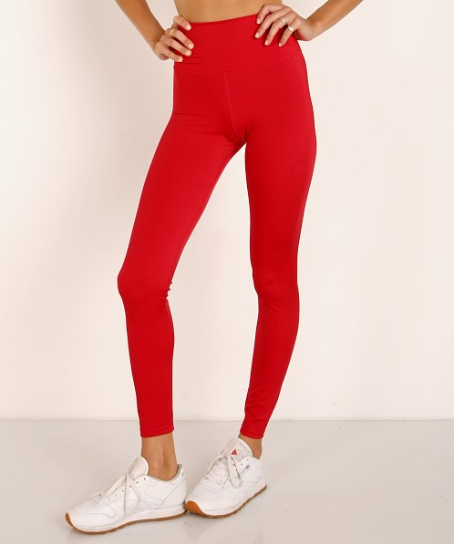 Beach Riot Shine Legging Red Shine