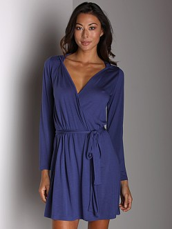 Only Hearts Venice Robe With Hood Lapis