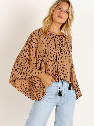 Auguste the Label Safari Poolside Top Leopard