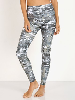 Model in marble camo Onzie High Rise Legging