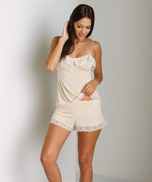 Eberjey Fanny Shorts French Vanilla