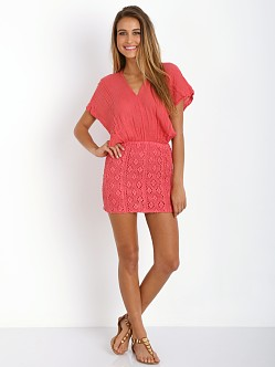 Jen's Pirate Booty Moroccan Mini Dress Coral
