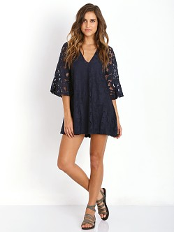 Tularosa Charlotte Dress Navy