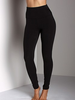 Yummie Tummie Knit Legging Black
