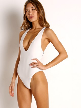 Model in ivory Acacia Nova Full One Piece