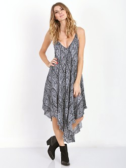 Free People Knot For You Slip Raven Combo