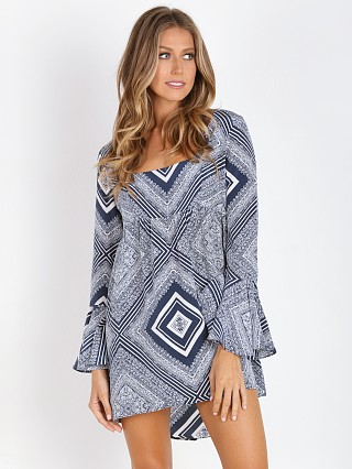 Stone Cold Fox Farrah Dress Alva Print
