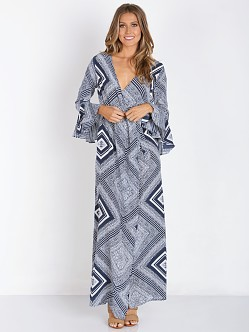 Stone Cold Fox Sunset Robe Alva Print