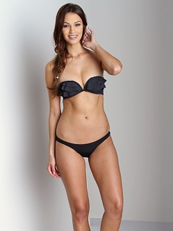 Zimmermann Low Bikini Bottom Black
