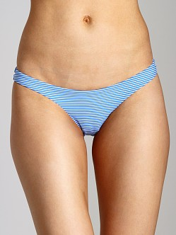 Zimmermann Low Bikini Bottom Marina Stripe