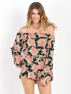 Show Me Your Mumu Rane Romper Flower Puff Girls