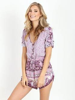 Spell Xanadu Playsuit Purple Haze