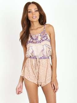 Spell Xanadu Playsuit Gold Dust