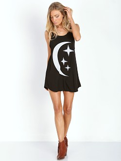 MATE the Label Romy Dress Summer Moon Black