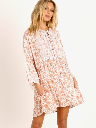 KIVARI Florence Babydoll Long Sleeve Mini Dress