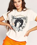 Daydreamer The Doors Venice Beach Girlfriend Tee Stone Vintage, view 2