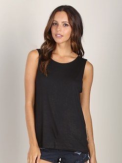 Lovers + Friends Myth Tank Black