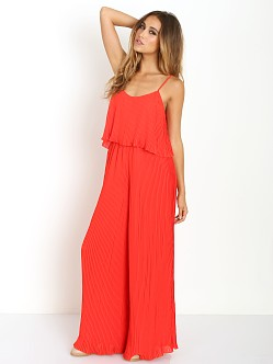 Lovers + Friends Walk in the Park Jumpsuit Poppy