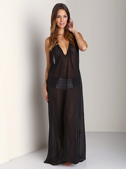 Noe Undergarments Alfie Slip Dress Black
