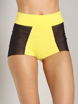 Noe Undergarments Oliver High Waisted Brief Citron