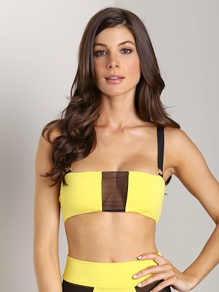 Complete the look: Noe Undergarments Oliver Bandeau Bra Citron