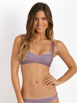 Acacia Samoa Bikini Top Fig Cape Cod
